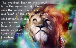 freedom lion